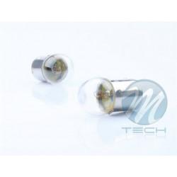 Caja 10 Lámparas halógenas mini G18 BA15S 12V/5W Transparente E8