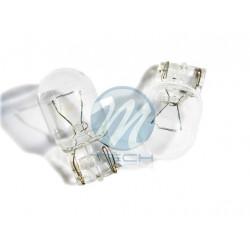 Caja 10 Lámparas halógenas mini T20 W21W 12V/21W Transparente E8