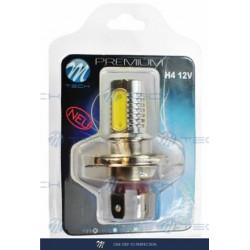 Blister 1x Lámpara led X14 - H4 4x1,5WHP 6W 12V Blanco 12V