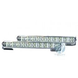 Luz diurna DRL LED 640 FLUX RL+E4 2x20 Flux 12V/24V