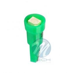 Lámpara led L003 - T5 1xSMD3528 Verde 12V