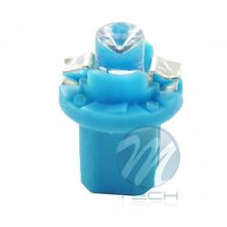 Lámpara led L005 - B8.5D redondo Azul 12V
