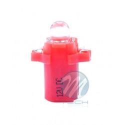 Lámpara led L047 - B8.3D redondo Rojo 12V