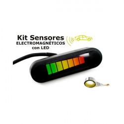 Kit de sensores electromagnéticos con pantalla