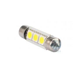 Lámpara led L310 - C5W 36mm 3xSMD5050 CANBUS Blanco 12V