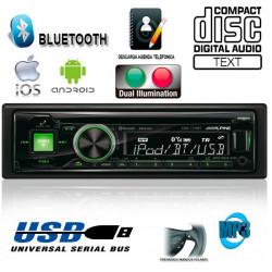 RADIO CD / USB ALPINE CDE173BT CONTROLADOR DE iPod CON BLUETOOTH® AVANZADO