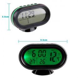Reloj Termómetro 12v/24v