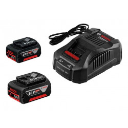 Power set 18V Litio Professional 2 BAT- 5Ah+Cargador