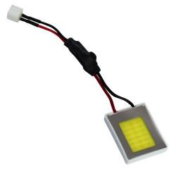 Plafón 18 leds 0.5W COB chip 9-32v