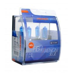 Pack 2 lámparas halógenas m-tech Powertec XENON BLUE HB4 12V 55W