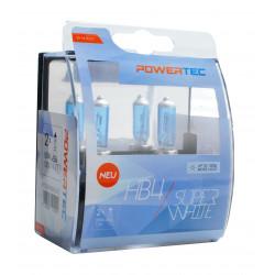 Pack 2 lámparas halógenas SuperBlanco Powertec HB4 12V DUO E4