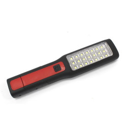 Lámpara portatil de taller 21 LED, LI-ON 3.7V, 2200 mA