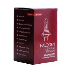 Lámparas halógenas 24V HEAVY DUTY H7 70W