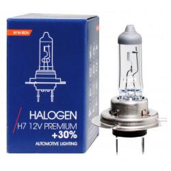 Lámpara halógena H7 PREMIUM +30% 12V 55W E4