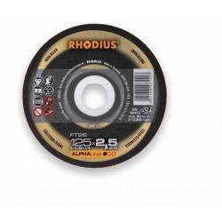 Disco desbaste Rhodius RS28-115X7