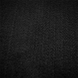 Moqueta Negra Lisa 70x140