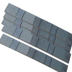 Pesas de acero segmentadas en caja de 100 Unidades