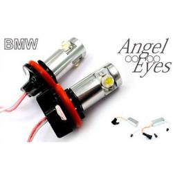 BMW LED Marker H8 6W Cree LED 12V 2 x 6W