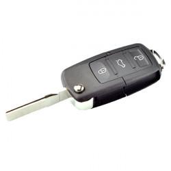 Carcasa de llave para Volkswagen Golf II Jetta Passat... con 2 botones