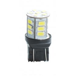 Lámpara LED T20 W21/5W 21xSMD5630 12V, blanca