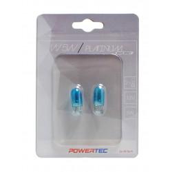 Powertec W5W T10 12V 5W WEGDE Platinum white effect