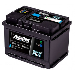 Bateria arranque Galaxy Plus 55AH 480A
