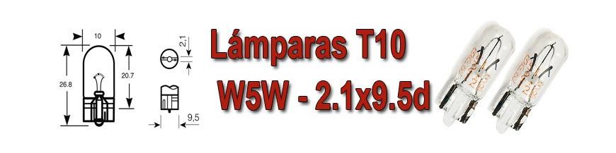 Bombillas W5W-T10