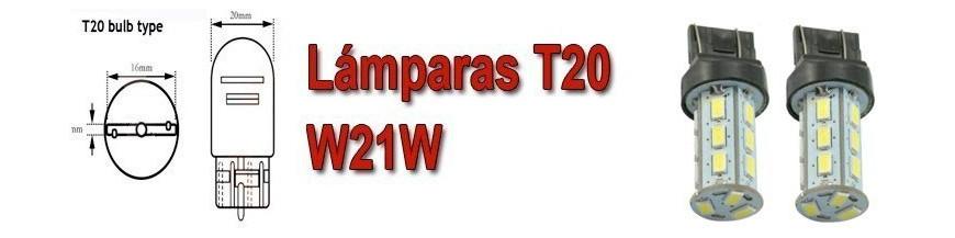 Bombillas T20 W21W 7440