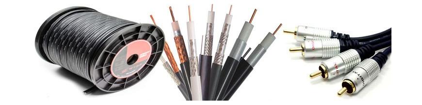 RCA Cable, Cableados y Conectores