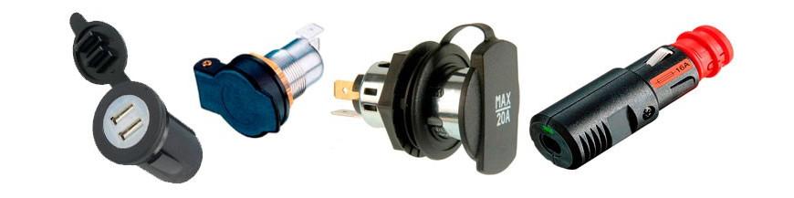 Conectores Mechero y USB