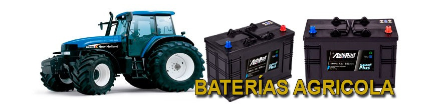 Baterías Agrícola