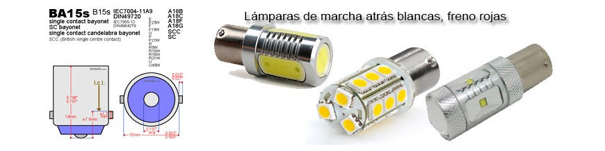 Bombillas Led BA15S - P21W